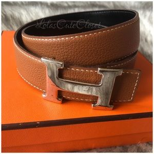 Authentic 32mm Hermes Belt Size 70
